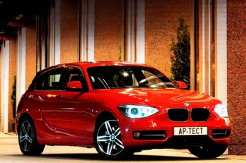 BMW стильный автомобиль