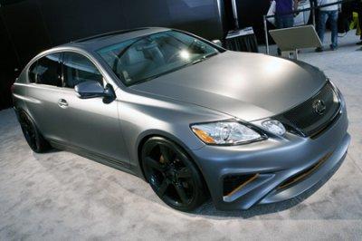 Спортивный Lexus GS
