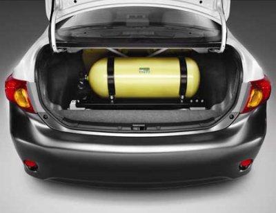 Переоборудование автомобилей под газовое топливо