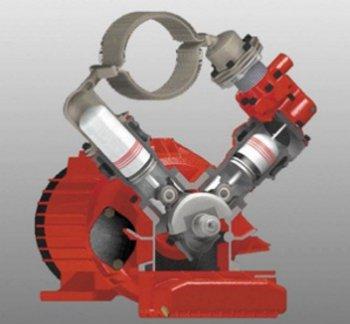 Принципиальная электрическая схема двухтопливного двигателя
