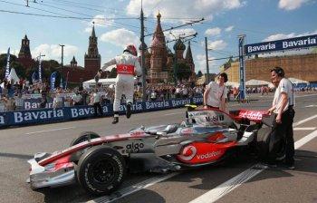Решение об участниках авто-шоу Moscow City Racing