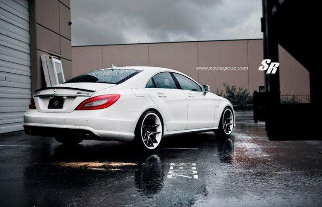 Тюнинг ателье SR Auto Group произвело доводку автомобиля Mercedes-Benz CLS 63 AMG