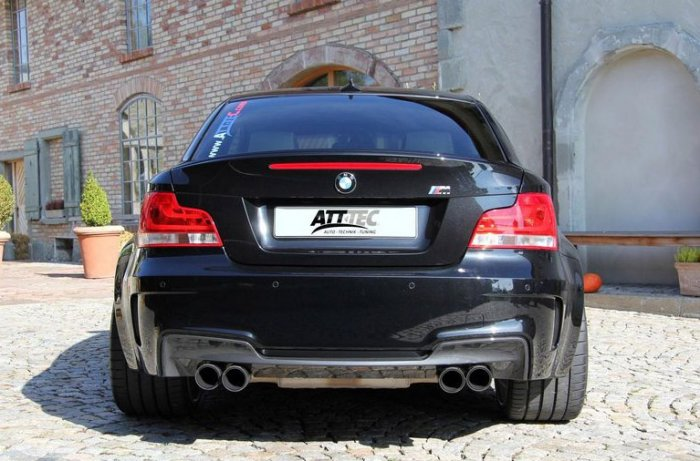 Тюнинг ателье ATT-TEC прокачала автомобиль BMW 1-Series M Coupe, тюнинг БМВ