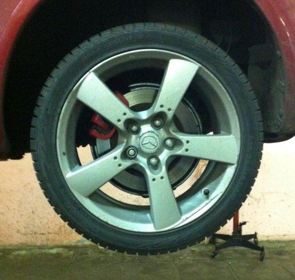 Продам диски R18 не дорого, родные колеса от Мазды RX 8