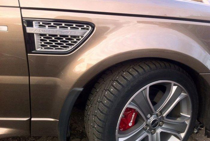 Range Rover Sport Supercharged мощный внедорожник