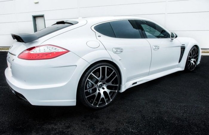 Porsche Panamera усовершенствовали в тюнинг агентстве Onyx Concept