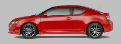 Обновленный купе Scion tC