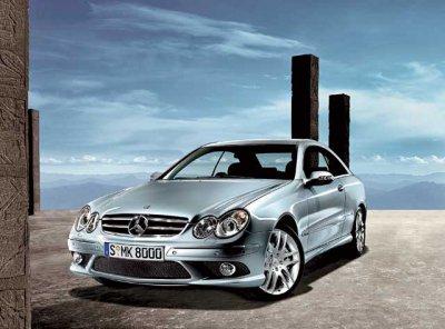 О возвращении на рынок Mercedes-Benz CLK