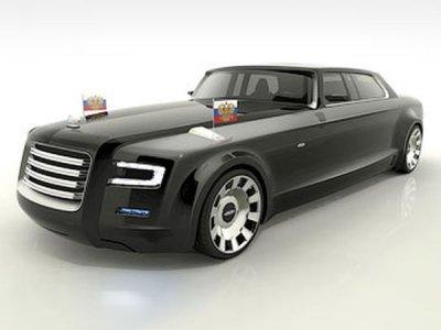 У автомобиля президента России будет новый дизайн