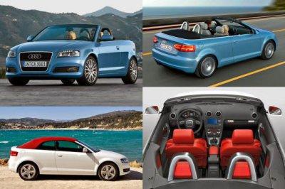 Великолепный кабриолет Audi A3
